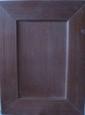 Фасад: шпон дуба под морилкой