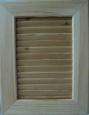 Фасад: массив лиственницы, покрытие лак