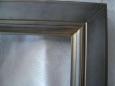 Фасад: МДФ, эмаль серебро + патина золото, покрытие лак