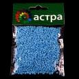 Бисер Астра 11/0, 20г (М43 голуб/непрозр.мат)