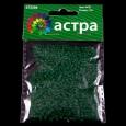 Бисер Астра 11/0, 20г (М7В зеленый/прозр.мат)
