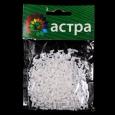 Стеклярус Астра 5мм, 20г (41 белый/непр)
