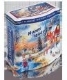 Жестяная подарочная банка «Happy Winter» — чай «Земляника со сливками»