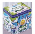 Жестяная подарочная банка-музыкальная шкатулка «Overture Spring» — чай «Земляника со сливками»
