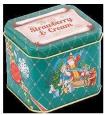Жестяные подарочные банки-праздничный подарок