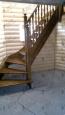 Деревянная лестница с двумя поворотами, (сорт А)