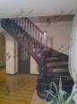 Деревянная лестница, лиственница