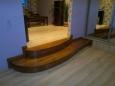 Деревянная лестница - крыльцо, сосна