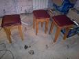 Табурет С-1, 30х30 см, с мягким сиденьем