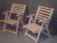 Садовый деревянный стул С-3, 50х40см, сосна
