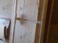 Дверь деревянная входная, уличная с утеплителем