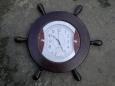 Деревянная оправа для часов «Штурвал»