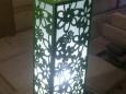 Светильник деревянный резной