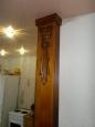 Колонна деревянная с элементами резьбы