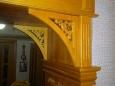 Арка деревянная «Портал», массив сосны