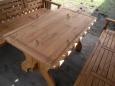 Стол деревянный А-3, 80х150см