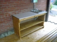 Стол-тумба деревянная А-6, 70х140см