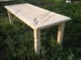 Стол деревянный А-7, 80х200см