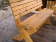 Лавочка деревянная Л-1, 35х150см