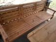 Лавочка деревянная Л-4, 50х175 см