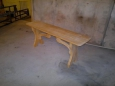Скамейка деревянная Л-6, 35х130см