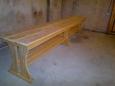 Скамейка деревянная Л-7, 45х270см
