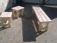 Скамья деревянная Л-10, 170х39см