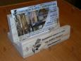 Подставка для визиток П-2-2, 6х4х10см
