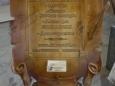 Деревянный рекламный щит