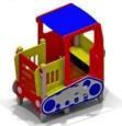 Игровое оборудование «Трактор», 1790х1195х2125мм