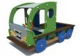 Игровое оборудование «Машинка», зеленый корпус, 2220х1420х1790мм