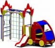 Игровое оборудование«Пожарная машина», 4650х2350х3000мм