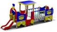 Игровое оборудование«Паровозик с вагончиком», 5750х1250х2250мм