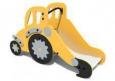 Игровое оборудование «Трактор-горка», корпус оранжевый,Hгорки=600мм 2420х1220х600м