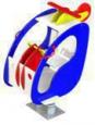 Качалка на пружине «Вертолет», 1450х800х1200мм