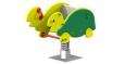 Качалка на пружине «Черепаха», 1000х500х800мм, 1-пружина