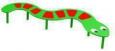 Дорожка «Змейка»,2340х885х327мм.
