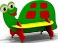Скамейка «Черепаха», 1540х755х958мм