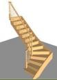 Лестница Г-3, Г-образная