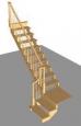 Лестница Г-1 с площадкой