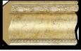 Декоративный карниз цветной Decor Dizayn 155-553
