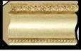 Декоративный карниз цветной Decor Dizayn 155S-933