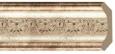 Декоративный карниз цветной Decor Dizayn 167-127
