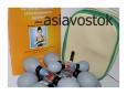 Магнитные присоски   акупунктурного действия (иглоукалывание в домашних условиях)   комплект из 18 банок