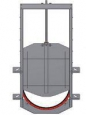 Глубинный затвор AWTek RX с круглым сечением для крепления на стену 4-х стороннее уплотнение