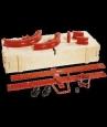 Трубогиб гидравлический электрический д/стальной трубы 3/8&quot - 4&quot (усиленная закрытаярама) # 240851