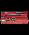 Клупп ручной для нарезки резьбы 1.1/2&quot-2&quotBSPT в стальном чемодане # 136460
