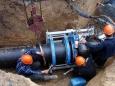 Прокладка трубопровода