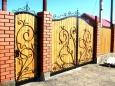 Кованые ворота ВК-03