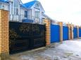 Кованые ворота ВК-07
